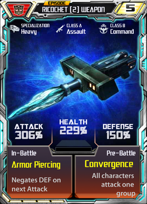 Ricochet 2 Weapon