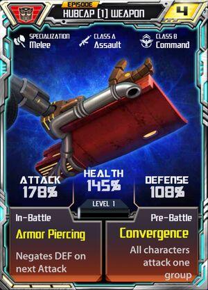 Hubcap 1 Weapon