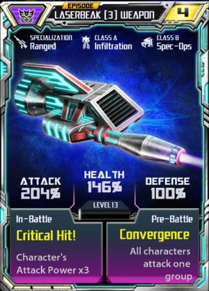 Laserbeak 3 EotR Weapon