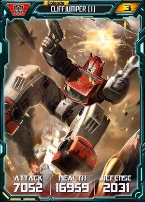 Cliffjumper 1 Robot