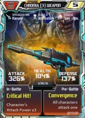 Chromia 3 Weapon
