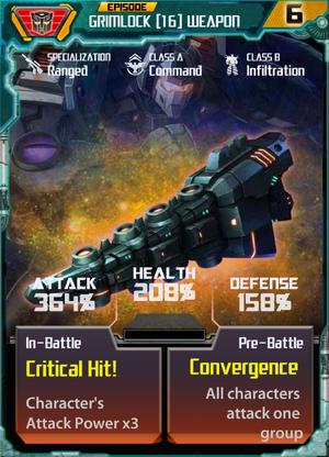 Grimlock 16 Weapon