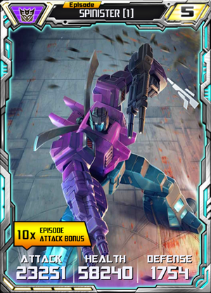 Spinister 1 Robot