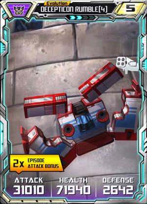 Decepticon Rumble 4 E2
