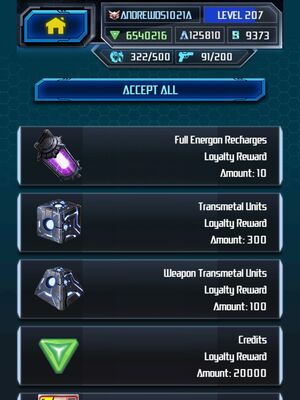 Me Grimlock King Super Loyalty Rewards 4-5