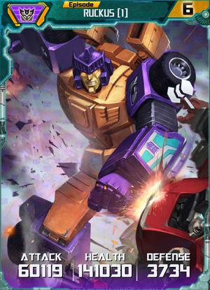 Ruckus 1 Robot