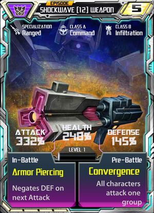 Shockwave 12 Weapon