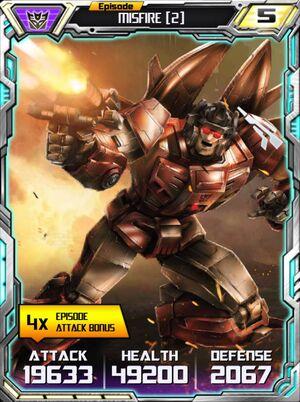 Misfire 2 Robot