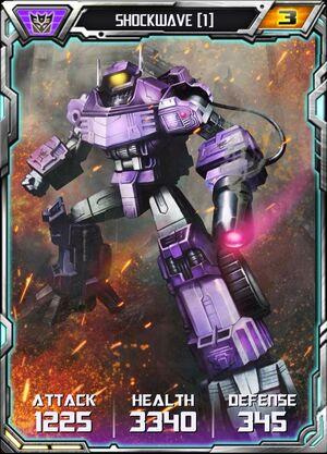 Shockwave (1) - Robot