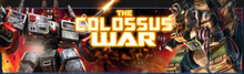 BoE The Colossus War banner