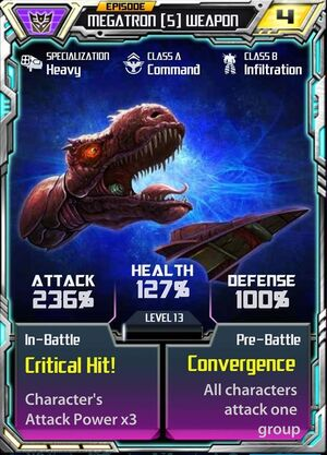 Megatron (5) Weapon
