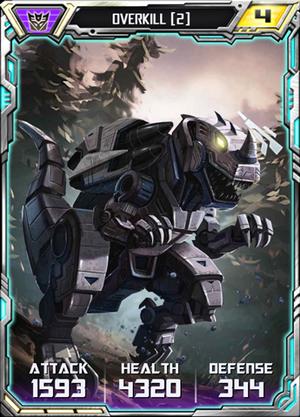 Overkill 2 Robot