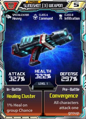 Slingshot 3 Weapon