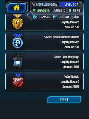 Me Grimlock King Super Loyalty Rewards 3-5