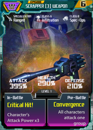 Scrapper 3 Weapon