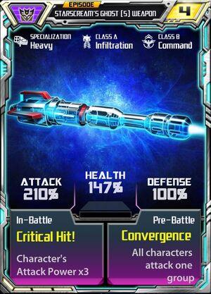 Starscream's Ghost (5) Weapon