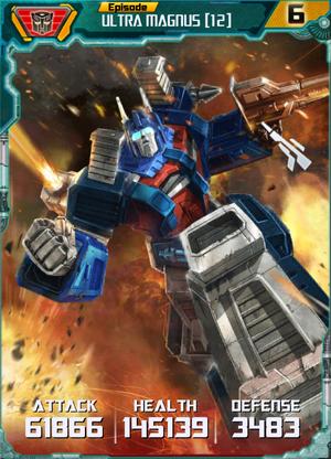 Ultra Magnus 12 Robot