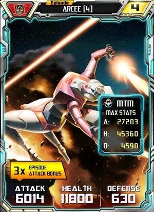 Arcee 4 Robot