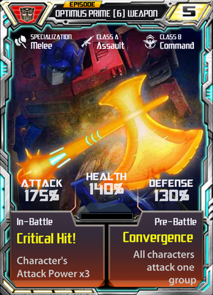 Optimus Prime 6 Weapon
