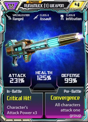 Runamuck (1) Weapon