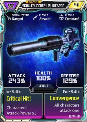 Skullcruncher 2 Weapon