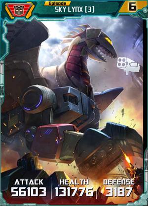 Sky Lynx 3 Robot