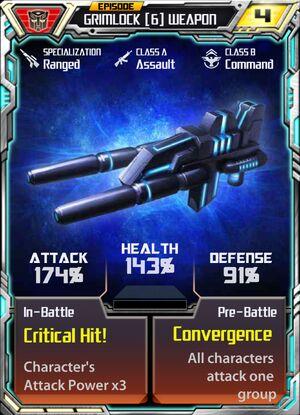 Grimlock 6 Weapon
