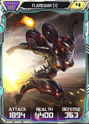 Flamewar (1) - Robot