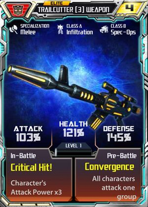 Trailcutter 3 Weapon