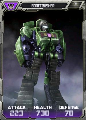 Bonecrusher Robot