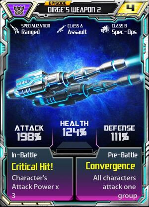 Dirge 2 Weapon