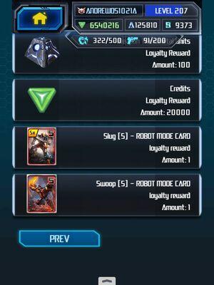 Me Grimlock King Super Loyalty Rewards 5-5