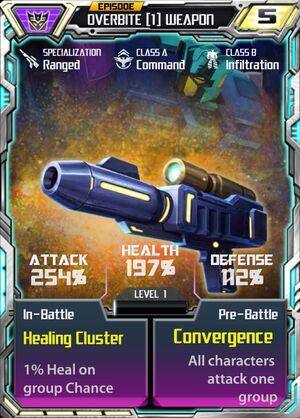 Overbite 1 Weapon