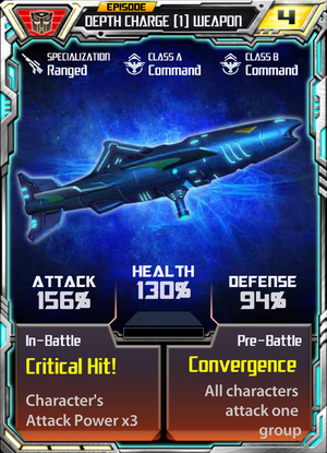 Depth Charge 1 Weapon