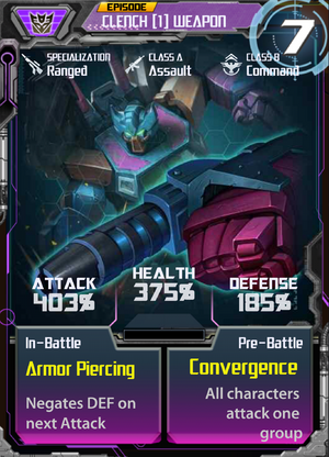 Clench 1 Weapon