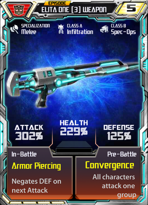 Elita One 3 Weapon