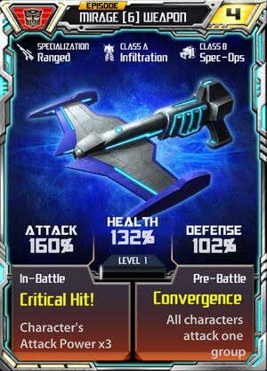 Mirage 6 Weapon
