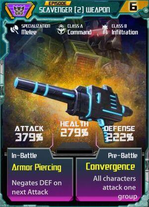 Scavenger 2 Weapon