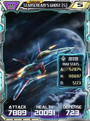 Starscream's Ghost 5 Alt
