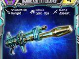 Barricade (1) Weapon