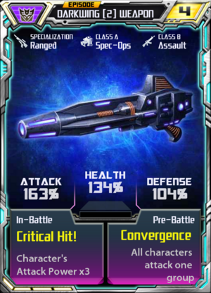 Darkwing 2 Weapon