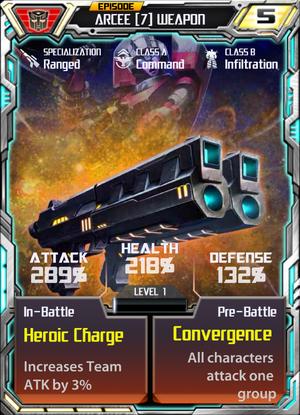 Arcee 7 Weapon