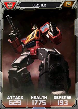 Blaster Robot