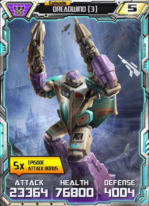 Dreadwind 3 Robot
