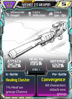 Sixshot 1 Weapon