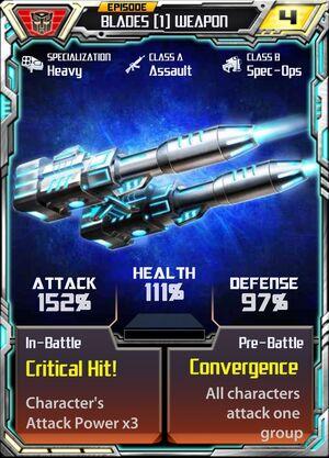 Blades 1 Weapon