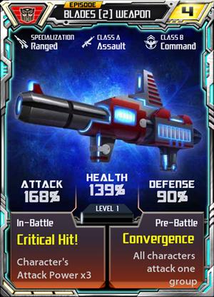 Blades 2 Weapon