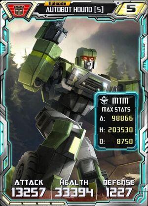 Autobot Hound 5 Robot