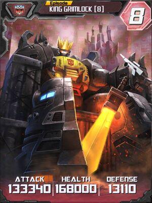 King Grimlock 8 Robot