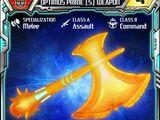 Optimus Prime (5) Weapon